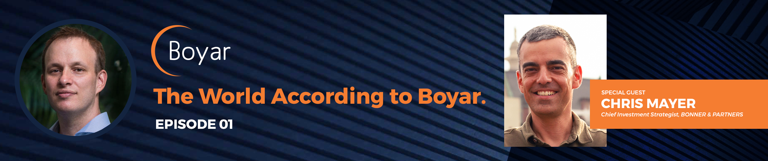 The World According to Boyar: Episode 1 with Chris Mayer