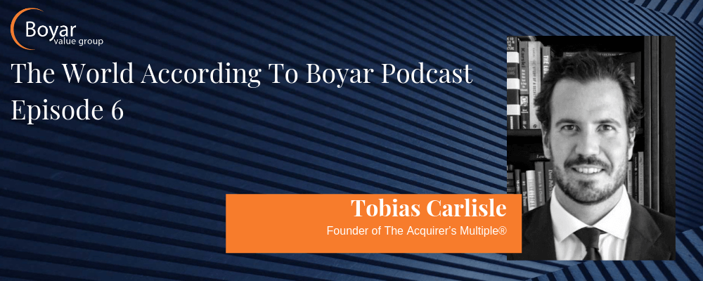 Tobias Carlisle, Founder of The Acquirer's Multiple, on how to incorporate deep value investment into your investment process.