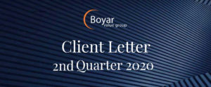 The Boyar Value Group 2nd Quarter 2020 Client Letter